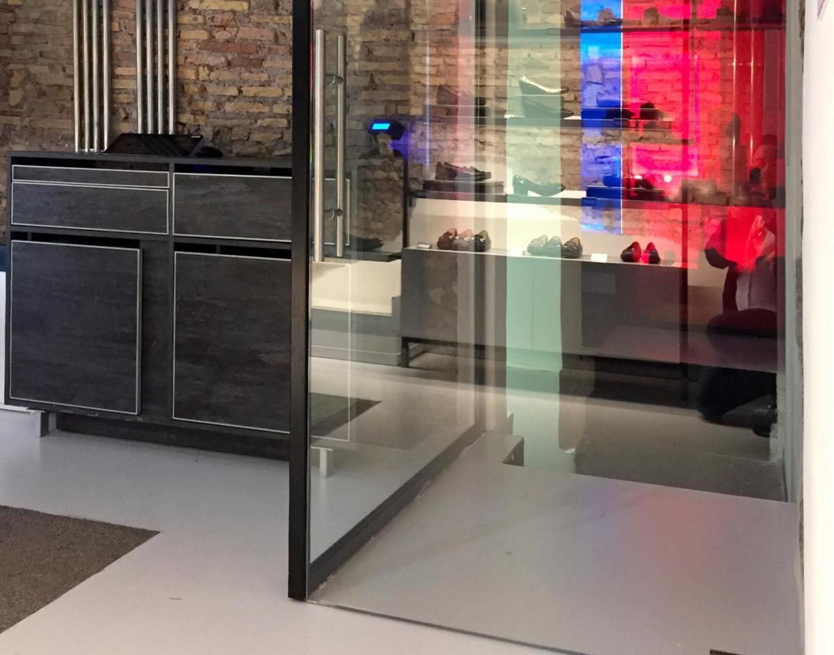 Costruire Una Parete In Vetrocemento vetrate per interni e pareti in vetro | zaza design