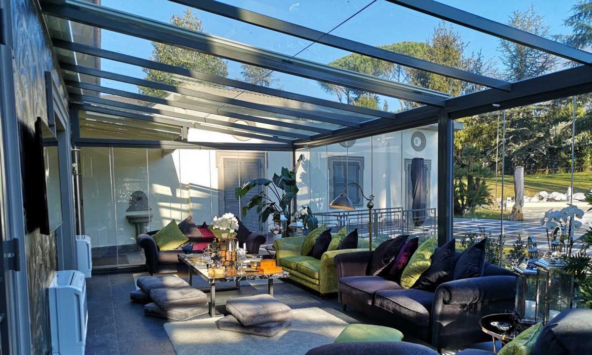 Serra Bioclimatica Abitabile A Roma Zaza Design