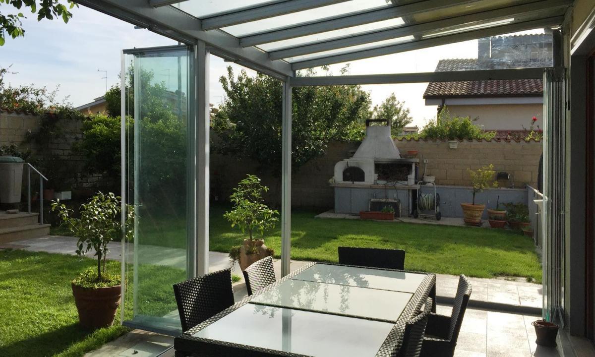 Terrazze Chiuse Con Vetrate vetrate a pacchetto per balconi e terrazze | super