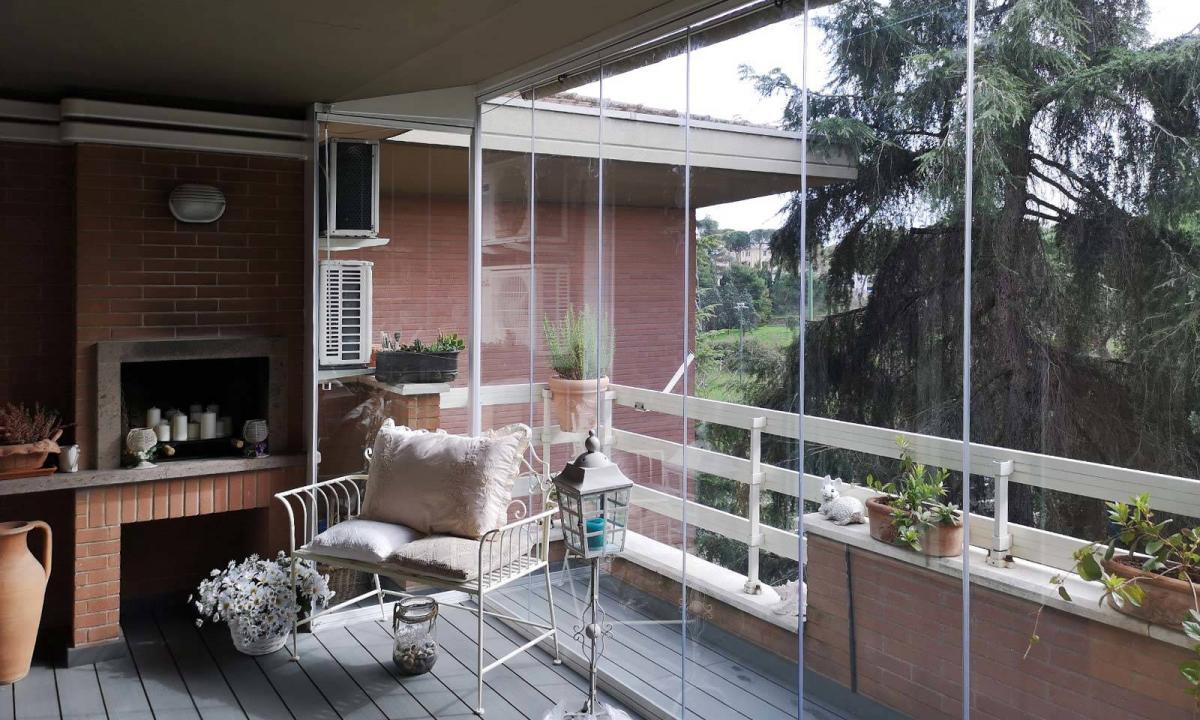 vetrate per balcone